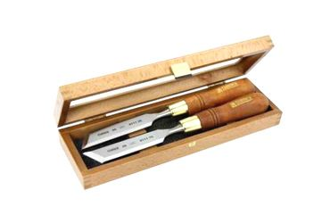 Narex Set of Skew Chisels in Wooden Box – Bild 6