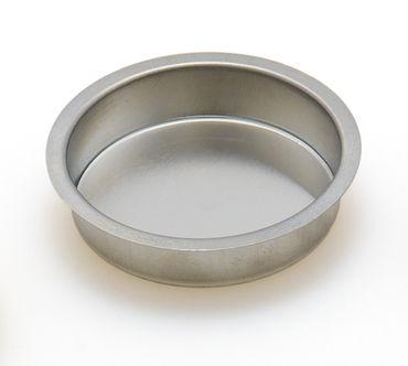 Tüllen für 50 mm Stumpenkerzen Weißblech
