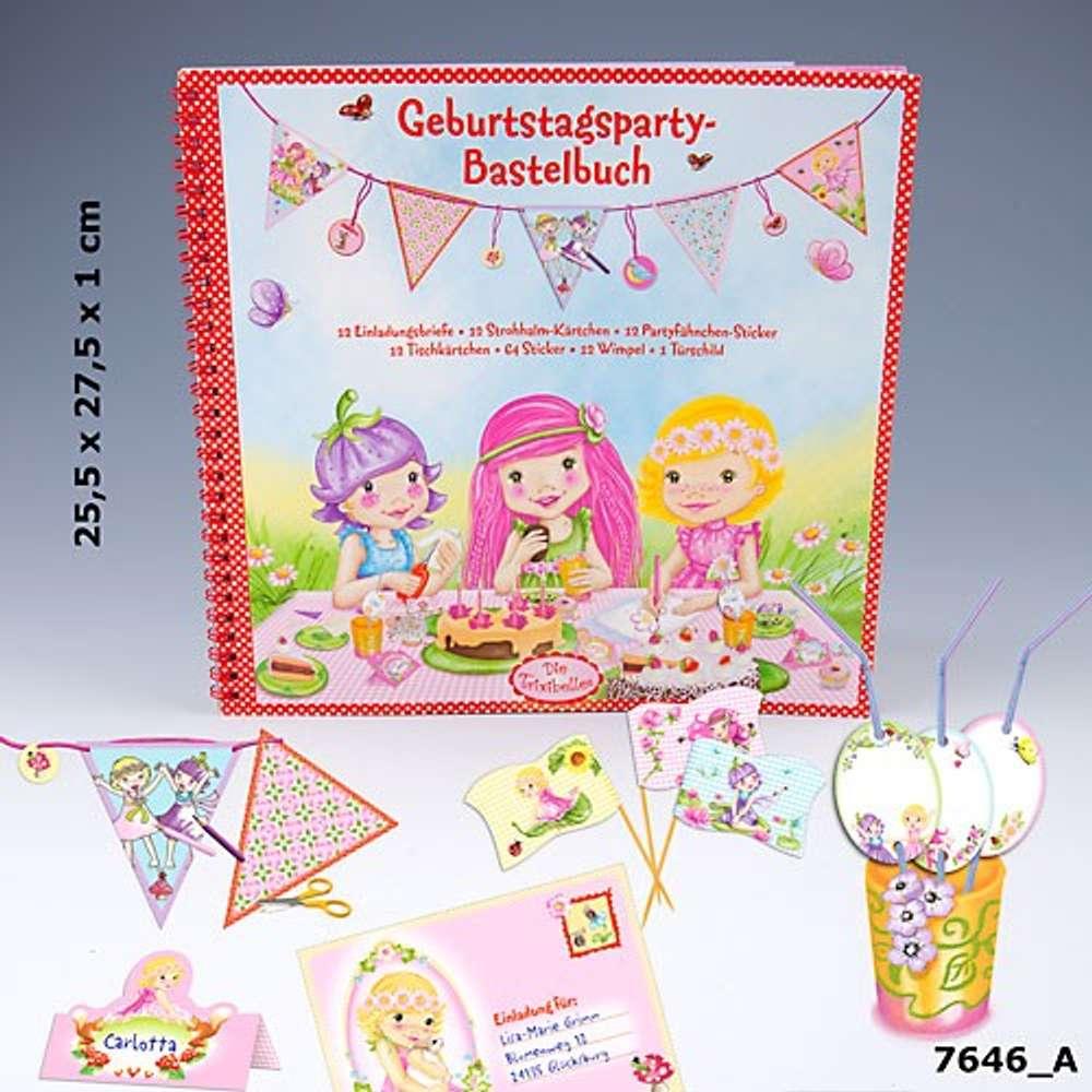 Trixibelles Geburtstagspartybastelbuch Bastelbuch Geburtstagsbuch Party Kindergeburtstag