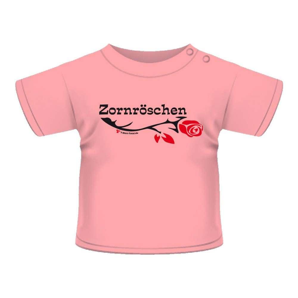 Anna & Philip Baby Kind Fun Spruch T-Shirt rosa Zornröschen Größenwahl