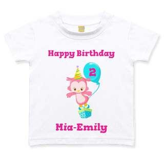 Geburtstagstshirt Madchen 2 Jahre Weiss Eule Rosa Geburtstag T Shirt