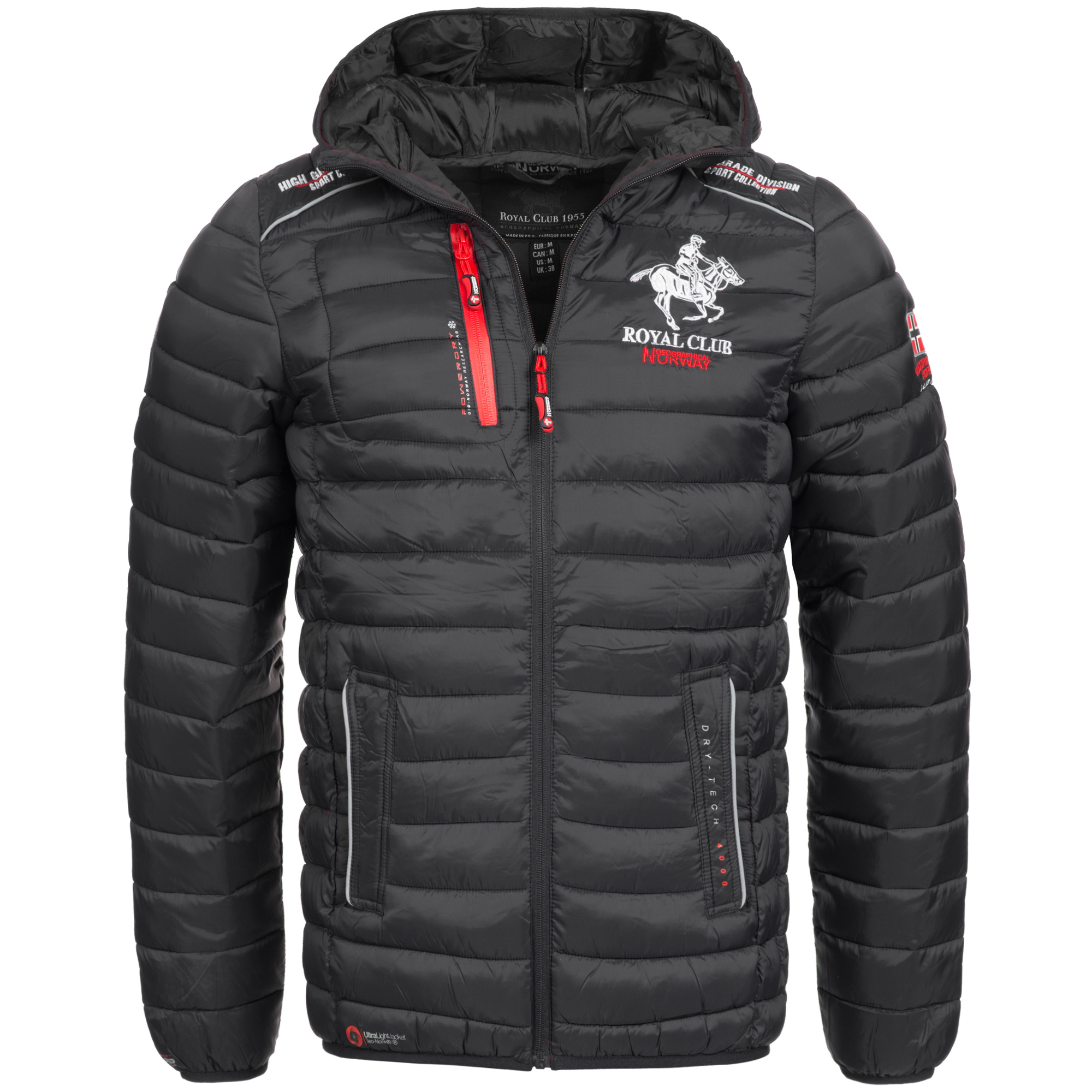 geographical norway jacke herren winterjacke steppjacke gesteppt warm brisbee ebay. Black Bedroom Furniture Sets. Home Design Ideas