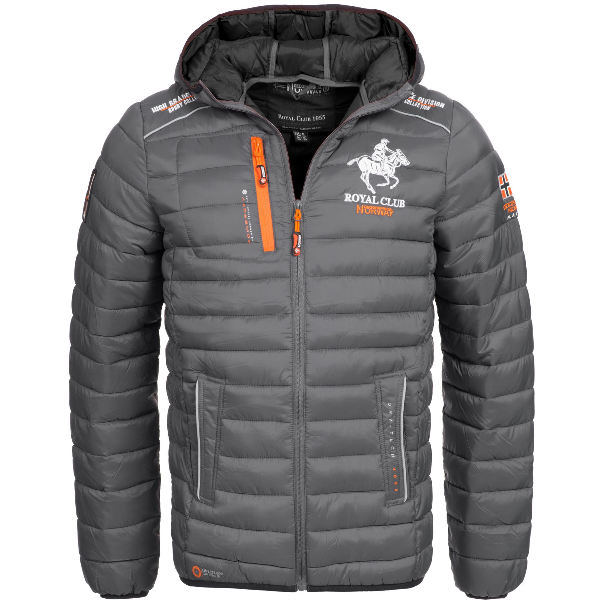 buy online f719f 4166e Geographical Norway Herren Winterjacke Jacke Steppjacke Daunen Look Parka  Brisbee Gr. S-XXXL 5Farben