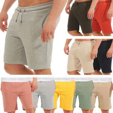 Brave Soul Herren Sweat Shorts kurze Hose Bermuda Short Sommer Sweatshort Stoff Sporthose Sportshort Sport AZ47