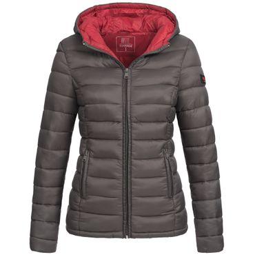 Marikoo LUCY Damen Stepp Jacke Parka Steppjacke Übergangsjacke gesteppt Übergang warm XS-XXL 10-Farben
