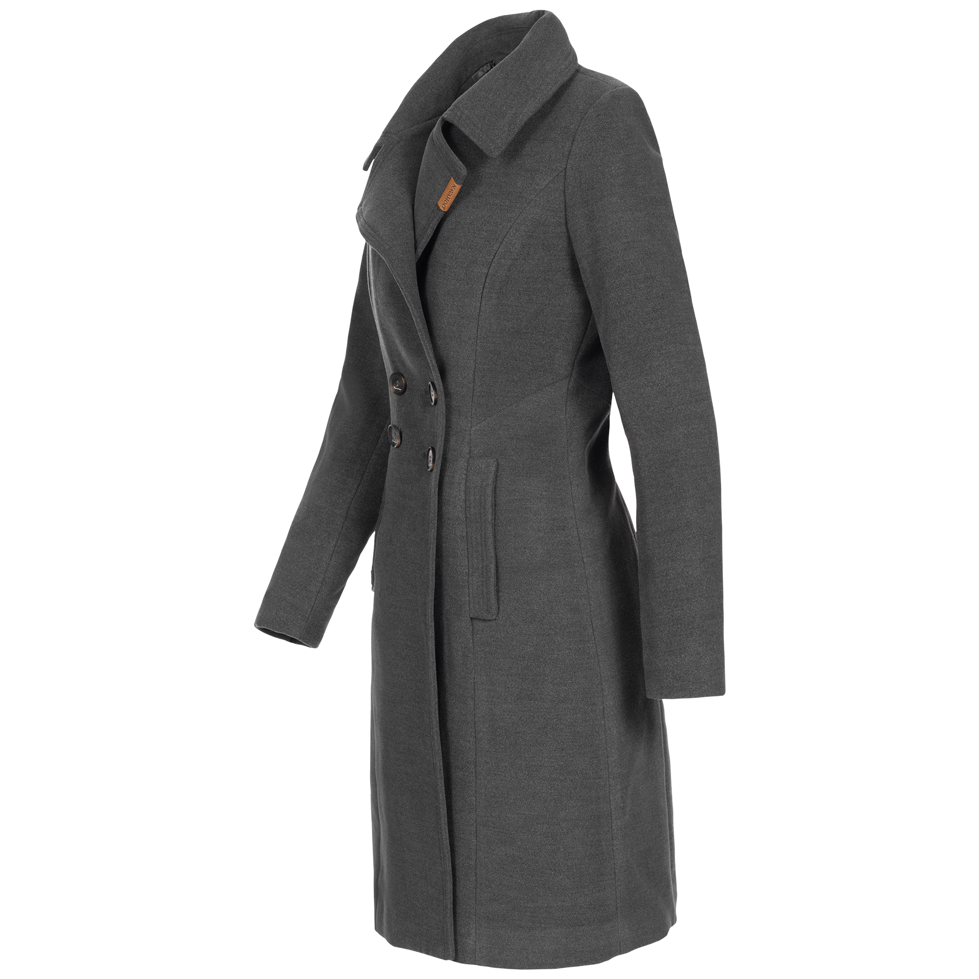 timeless design 71725 2be88 Navahoo Damen Mantel Wollmantel Wintermantel Jacke Trenchcoat warm Parka  lang Wooly XS-XXL 5-Farben