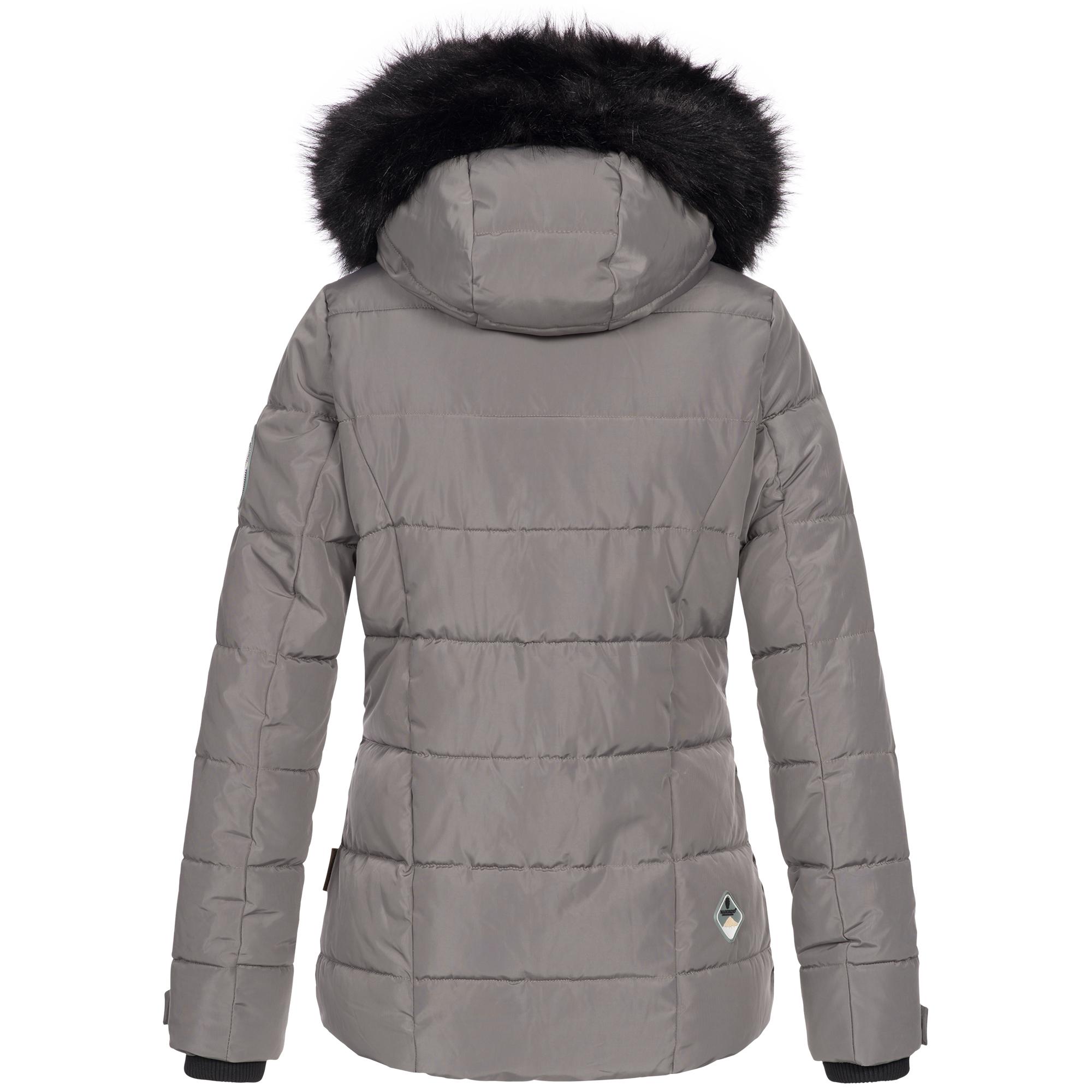 Marikoo Damen Winterjacke Jacke Winter Parka Ourdoor Ski warm Kapuze Snowgirl XS XXL 7 Farben