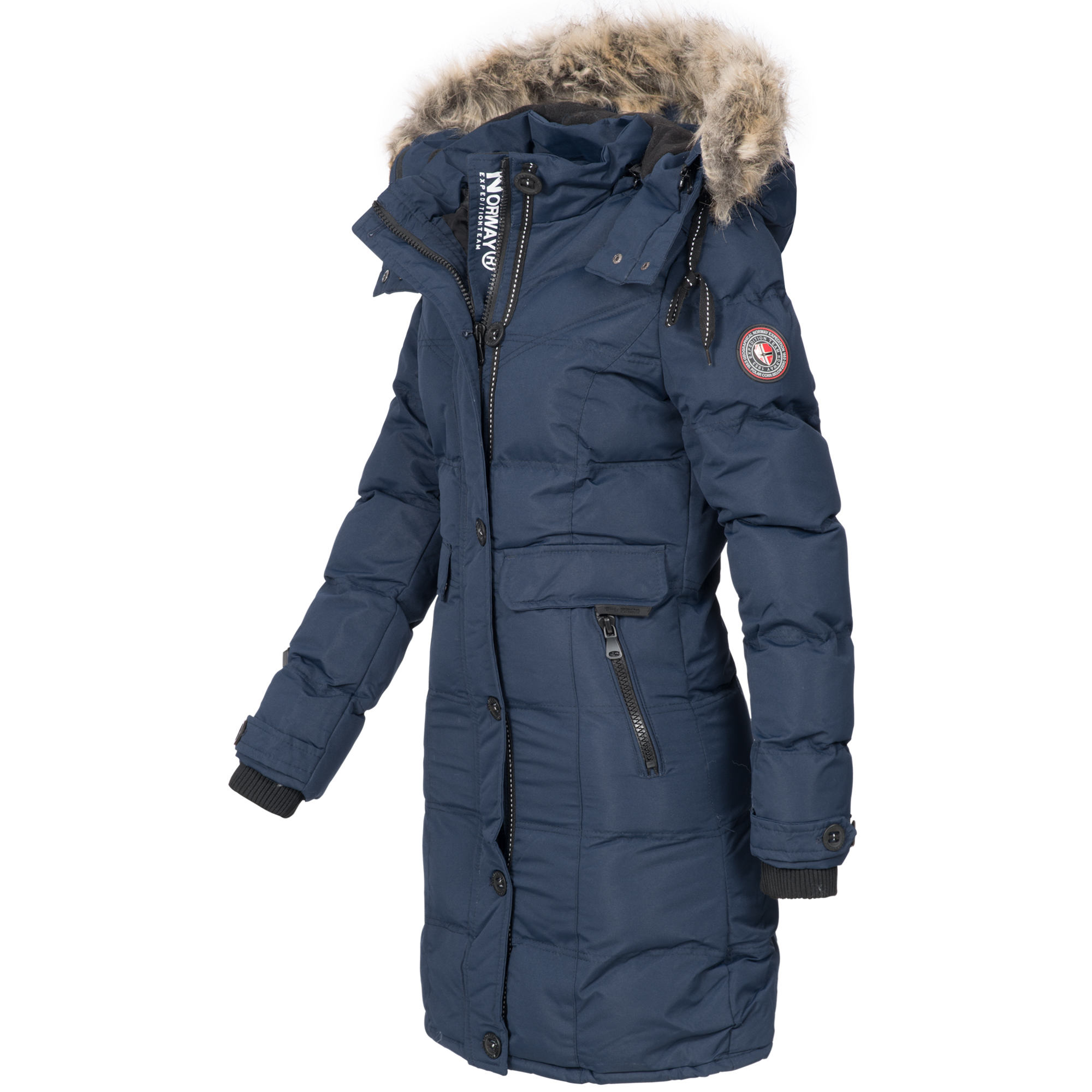 Neues Produkt 66e53 cfdc4 winterjacke damen lang warm