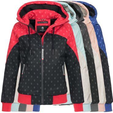 Marikoo Damen Jacke Softshelljacke Softshell  Übergangsjacke Regenjacke Nanoo XS-XXL 8-Farben