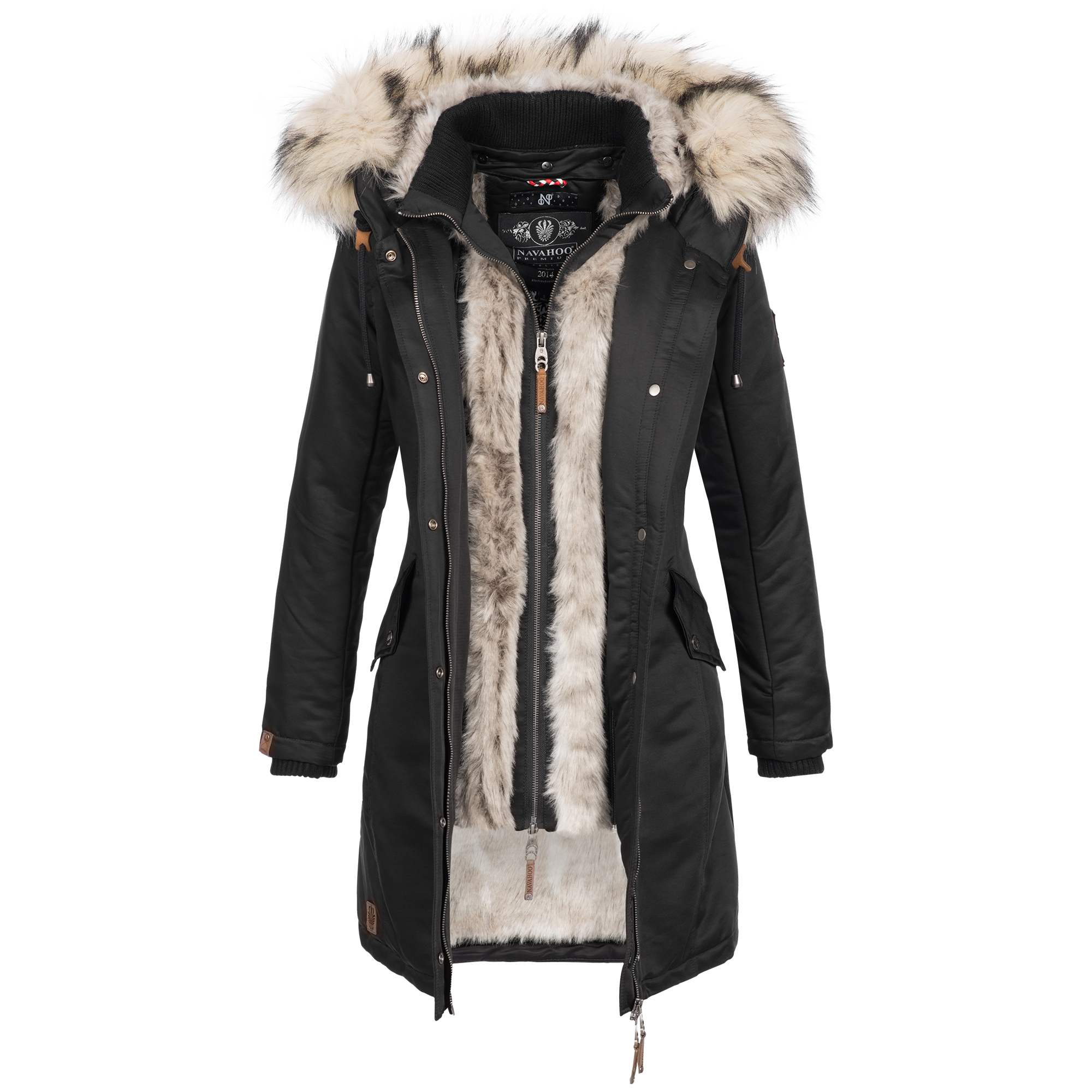 Parka Damen Luxus Winterjacke Navahoo Winter Mantel Jacke vb7gYyf6
