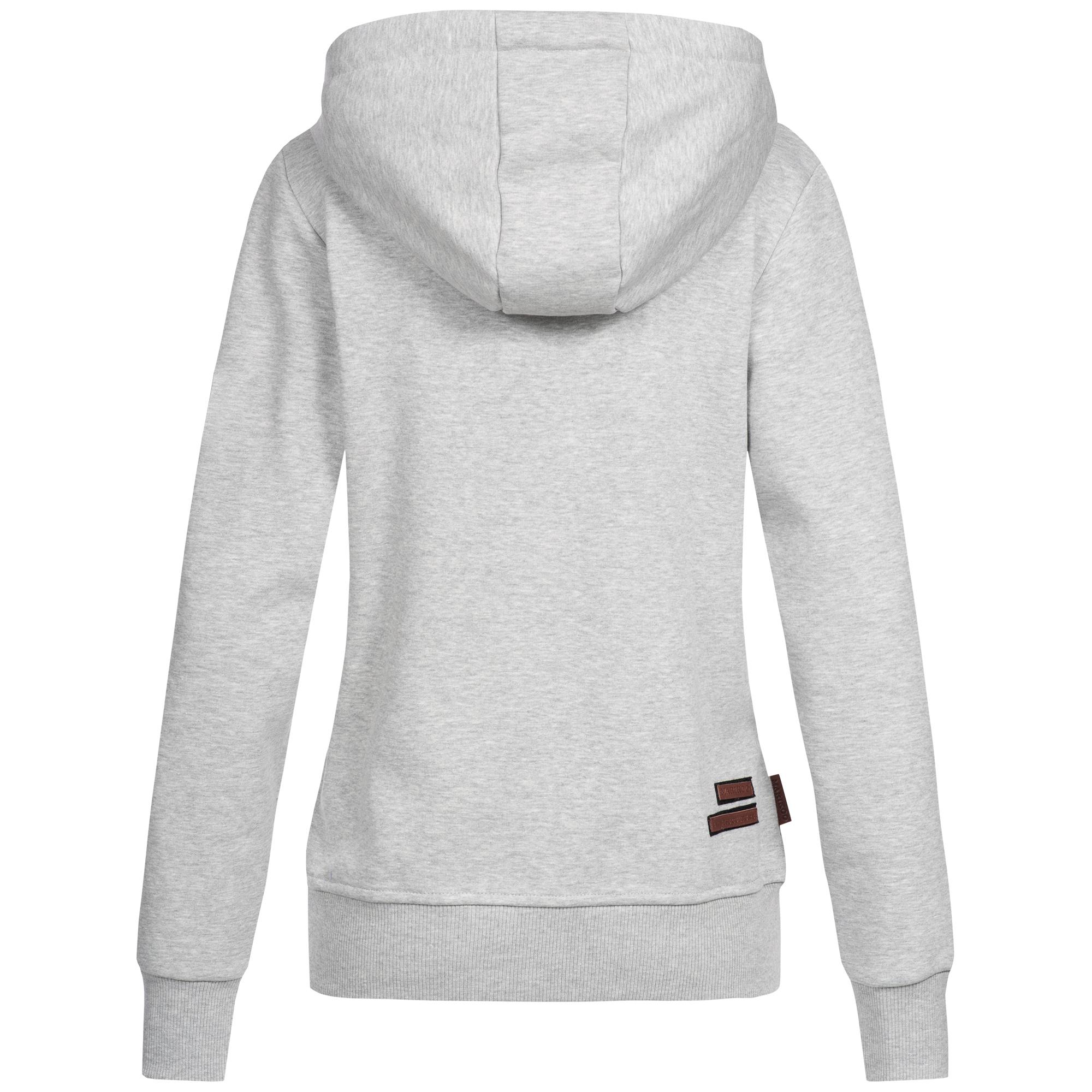 lowest price 55de3 4cc8b Marikoo Damen Hoodie Sweatjacke Strickjacke Pullover Sweater Pulli Kapuze  Tamik XS-XL 5-Farben