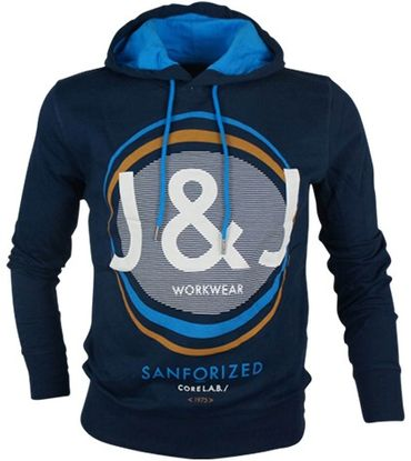 Jack & Jones Kapuzen Sweatshirt Hoodie Mega Sweat Gr. S-XL