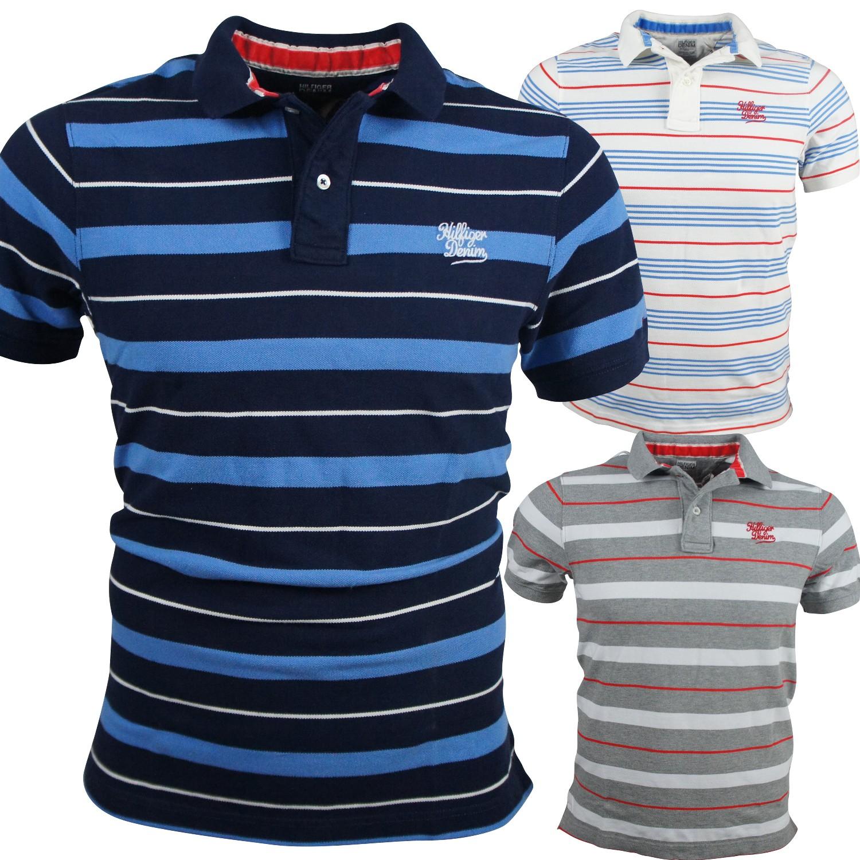1734a6552c4e Tommy Hilfiger Pando Poloshirt T-Shirt Gr. S-XXL HERREN T-Shirts