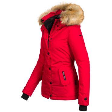 Navahoo LAURA2 Damen Jacke Parka Mantel Winterjacke super warm XXL Luxus Kunstpelz XS-XXL