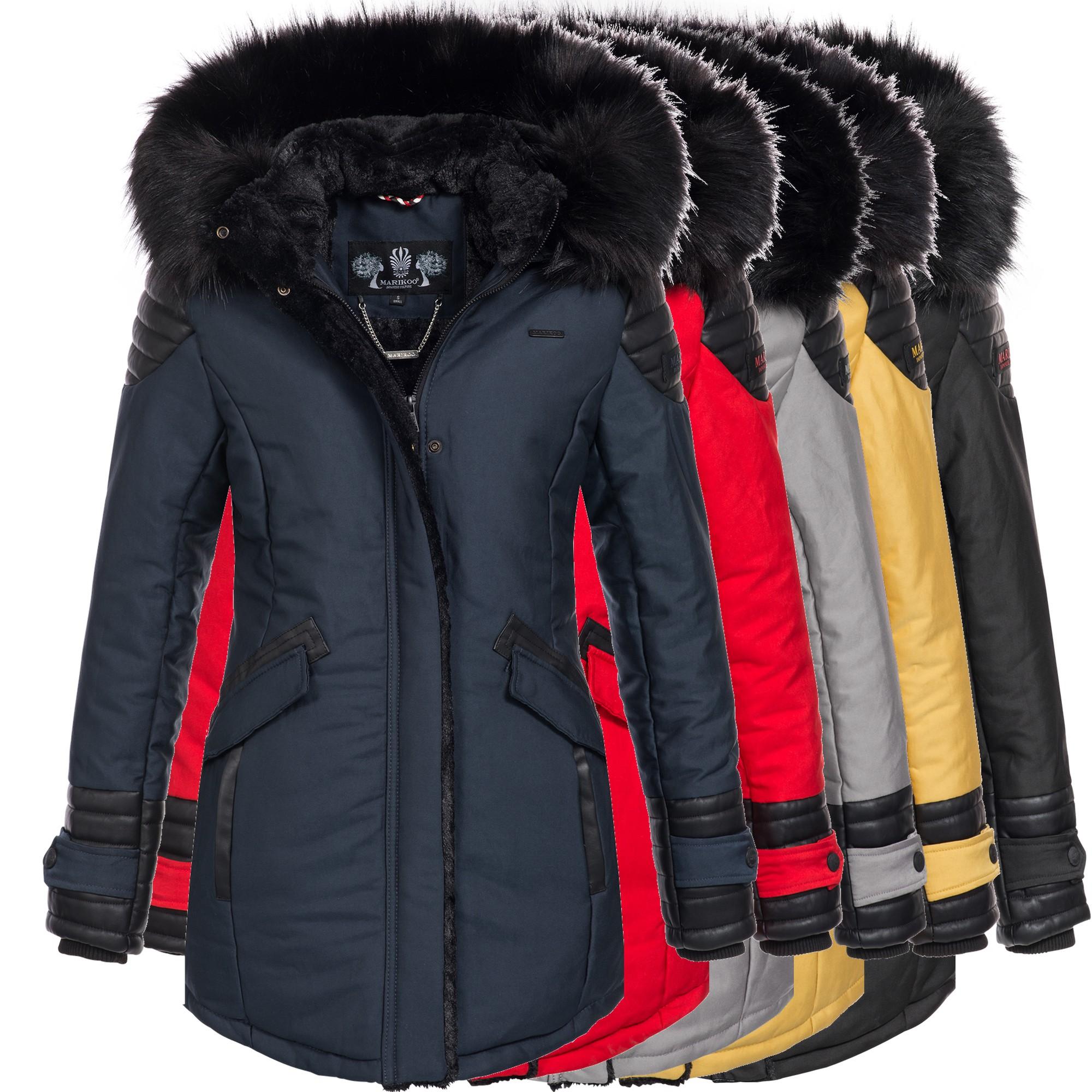 zauberfee damen mantel wintermantel jacke parka grau gr m. Black Bedroom Furniture Sets. Home Design Ideas