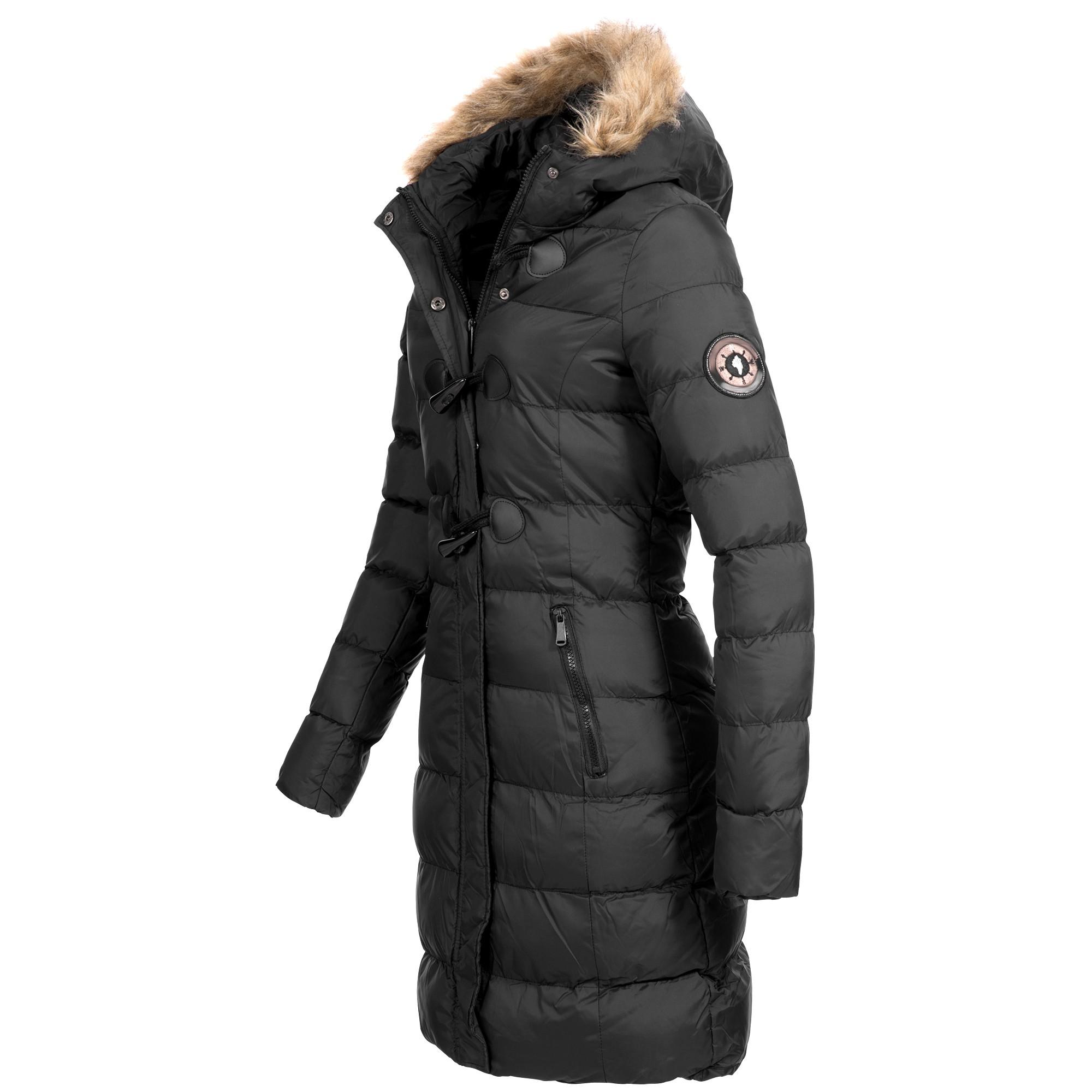 detailed look 90b27 f2c24 Brave Soul Damen Steppmantel Winter Mantel Parka Jacke warm S-XXL AZ29  4-Farben