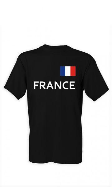 T-Shirt Frankreich S-4XL