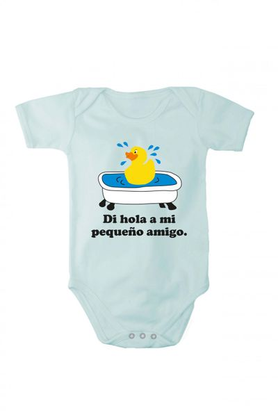 Baby Body mit Druck Sag hallo zu meinem kleinen Freund In verschiedenen Sprachen