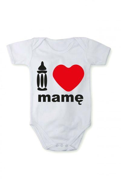 Strampler mit Druck Baby Body I love meine Mama In verschiedenen Sprachen
