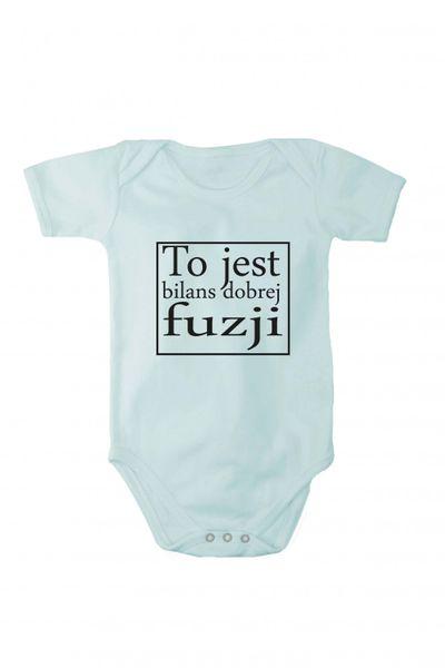 Baby Body mit Druck Bilanz einer guten Fusion In verschiedenen Sprachen