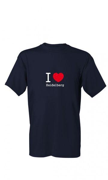 T-Shirt I Love Heidelberg S-4XL
