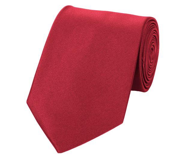 Schlips Krawatte Krawatten Binder 8cm hellrot Fabio Farini