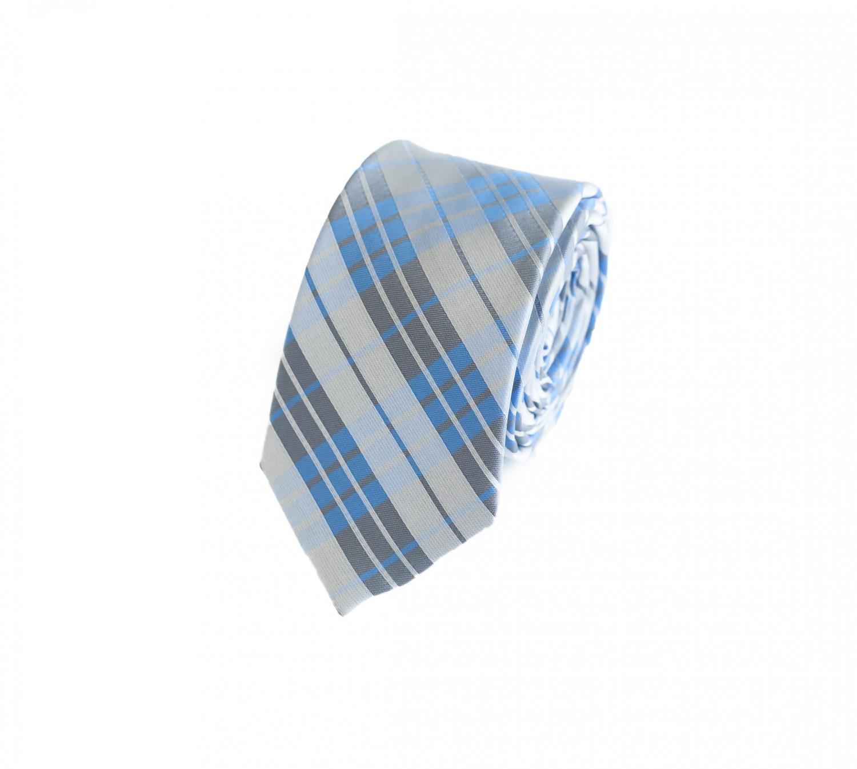 Fabio Farini klassische 6 cm Krawatte f/ür jeden Anlass in edelem grau