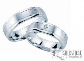 Freundschaftsringe Verlobungsringe Trauringe 925 Silber 6 mm Gravur Etui Diamant