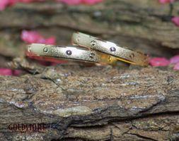1 Paar Trauringe Eheringe 3 mm Lovely 585 Gold Gelbgold mit Gravur & Etui – Bild 1