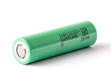Samsung INR18650 25R 2500mAh 3,6V - 3,7V ungeschützt – Bild 1