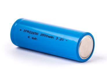 IFR22650  3,2V - 3,3V 2000mAh LiFePO4 (Lithium-Eisenphosphat) Akku – Bild 2