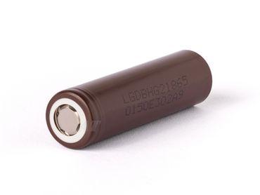 LG INR18650HG2 - 3000mAh 3,6V - 3,7V Li-Ion-Akku – Bild 1