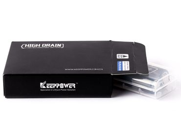 Keeppower IMR18650 - 3120mAh, 3,6V - 3,7V Li-Ionen-Akku (US18650VTC6) – Bild 4