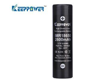 Keeppower IMR18650 - 2600mAh, 3,6V - 3,7V Li-Ion-Akku (US18650VTC5) – Bild 1