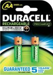 Duracell Rechargeable PreCharged NiMH 2400mAh AA HR6 1,2V - 2 Stück