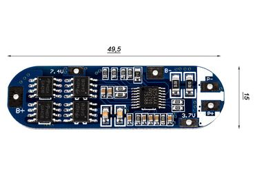 3S PCB - Keeppower XZD-3S1550  (Schutzelektronik)