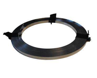Hiluminband (9 mm breit x 0,30 mm) Länge 1 Meter vernickelt – Bild 1