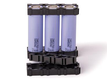 Abstandshalter für drei Zellen 21 mm Durchmesser – Bild 1