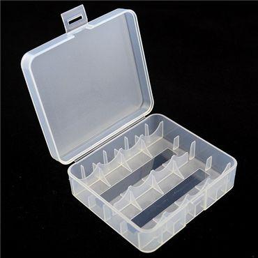 Aufbewahrungsbox D1 für 4x 18650 oder 2x 26650 Li-Ion-Akkus – Bild 1