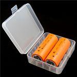 Aufbewahrungsbox D1 für 4x 18650 oder 2x 26650 Li-Ion-Akkus – Bild 3