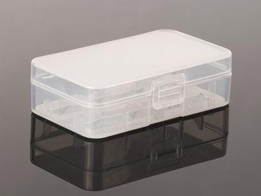 Aufbewahrungsbox B1 für 2x 18650 (robuste und rutschfeste Ausführung) – Bild 1