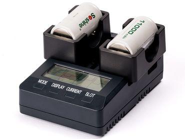 Opus Ladegeräte Adapter für C (R14, LR14) und D (R20, LR20) Akkus – Bild 1