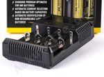 Nitecore Sysmax NEW i4 - intelligentes Ladegerät für Li-Ion, LiFePo4 und Ni-MH Akkus