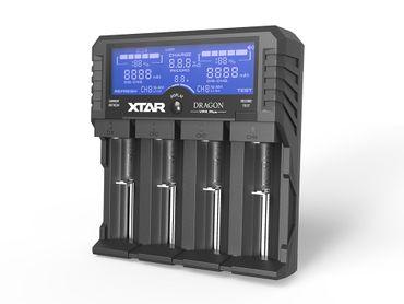 "Xtar VP4 Plus ""Dragon"" - Ladegerät für Li-Ion, Ni-MH und 3s Akkupacks – Bild 1"