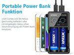 Xtar VC2S - Ladegerät für Li-Ion und NIMH Akkus inkl. USB-Kabel – Bild 3