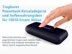 Xtar PB2 - 2-Schacht handliche Li-Ion Akku Reiseladegerät & Powerbank – Bild 3