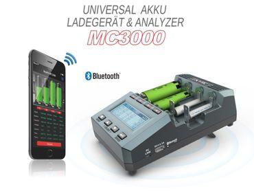 SkyRC MC3000 professionelles Universal-Analyse-Ladegerät für alle Akku-Typen Version: 2019 – Bild 1