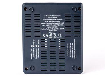 Opus BC1000 Universalladegerät für NIMH/NiCd und Li-Ion-Akkus – Bild 7