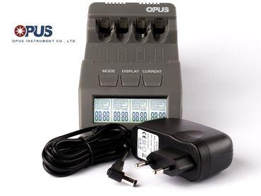 Opus BT-C700 intelligentes Ladegerät für AA/AAA, NIMH, NiCd Akkus – Bild 1