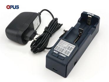 Opus BT-C100: Ladegerät mit Analysefunktionen – Bild 1